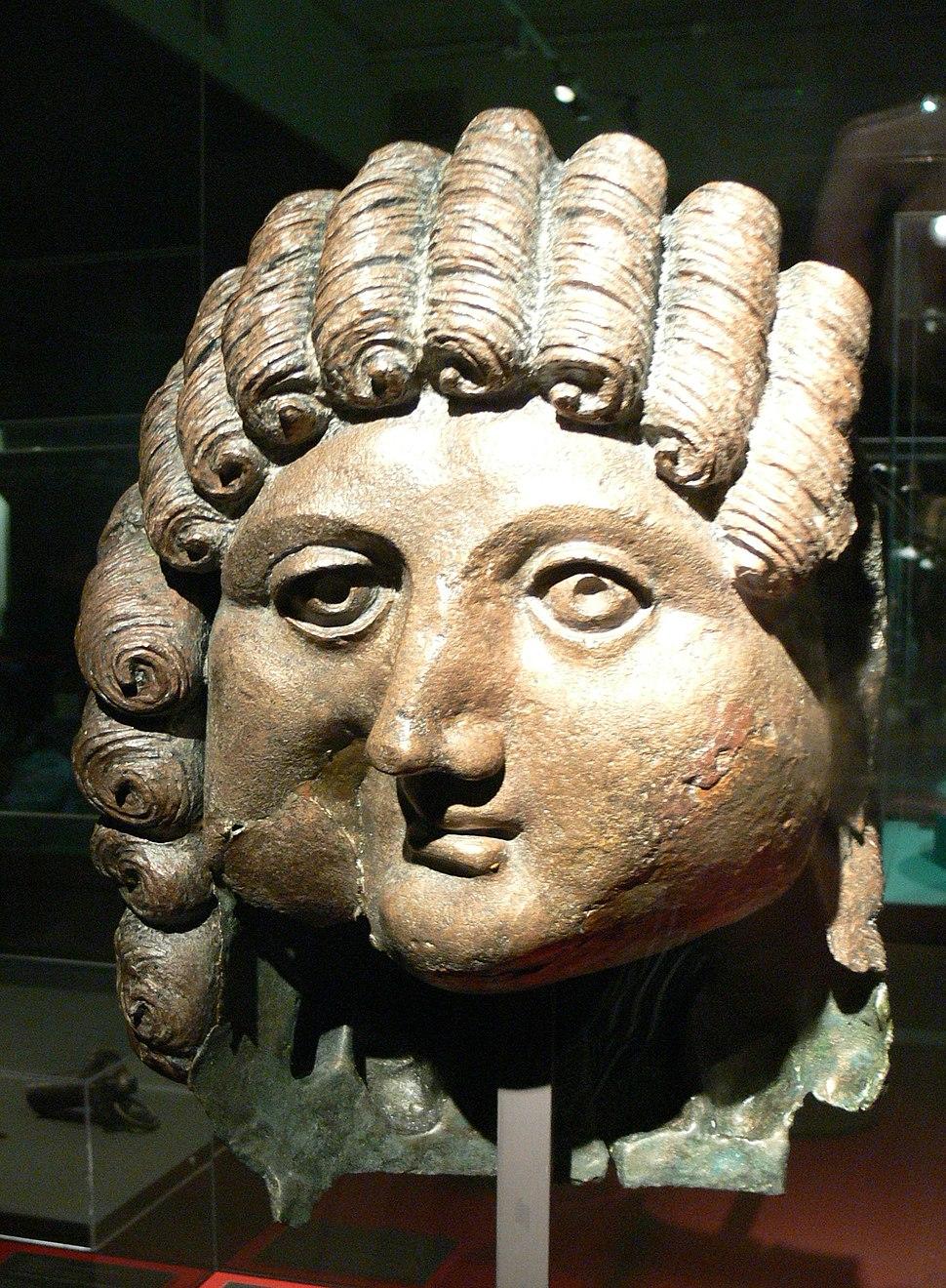 Pergamon-Museum - Bronzekopf
