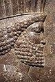 Periodo achemenide, rilievo con guardia persiana, da persepoli, 480 ac ca. 02.jpg
