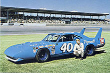Pete Hamilton with his Petty Enterprises 1970 Plymouth Superbird..jpg