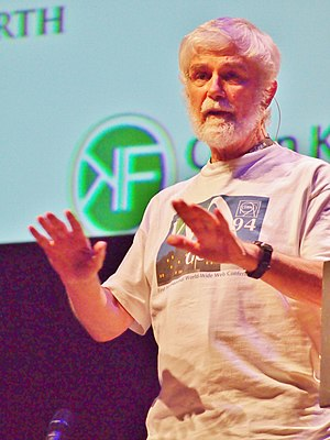 Peter Murray-Rust - at Wikimania 2014