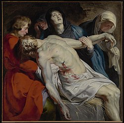 Peter Paul Rubens: The Entombment
