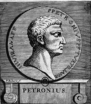 Petronius - Image: Petronius Arbiter by Bodart 1707