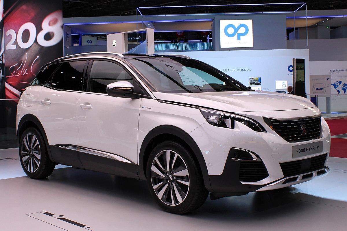 Peugeot 3008 Hybrid4, Paris Motor Show 2018, IMG 0227.jpg