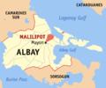 Ph locator albay malilipot.png