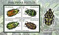 Philippine beetles 2010 stampsheet of the Philippines.jpg