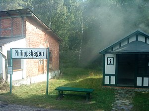 Philipp Julius, Duke of Pomerania - Philippshagen, named after Philipp Julius. Train station.