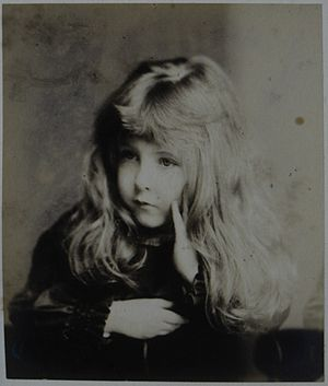 Stafford Howard - Catherine Meriel (Alcyone), Lady Stepney-Howard (1876-1952), as a child.