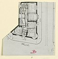 Photograph, Photograph of a Floor Plan of an Apartment Building Designed by Hector Guimard (No. 6), 1911 (CH 18387427-2).jpg