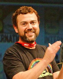 Photograph of actor Joe Lo Truglio 2010 San Diego Comic Con.jpg
