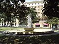 Piazza Municipio, Naples - fountains.jpg