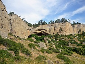 Pictograph Cave (Billings, Montana) - Pictograph Cave