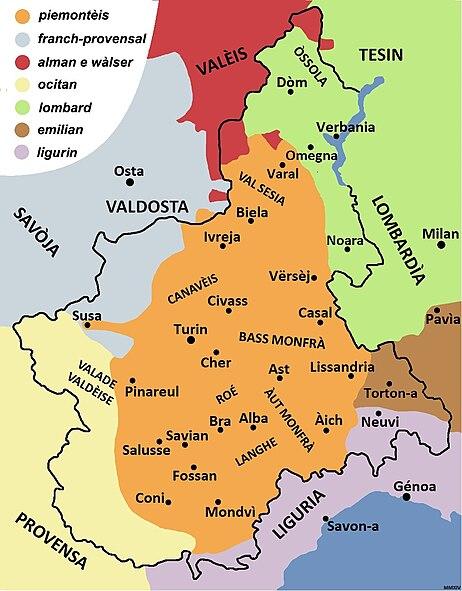 Le piémontais (par Cyril06) 462px-Piemont%C3%A8is