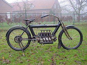 1911 Pierce Motorcycle