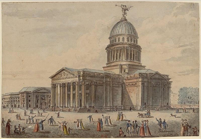 Fichier:Pierre-Antoine de Machy - Le Panthéon.jpg