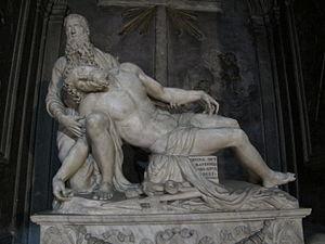 Santissima Annunziata, Florence - Pietà by Baccio Bandinelli