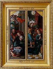 l'Annonciation et la Nativité