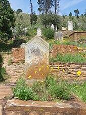photo d'une tombe maçonnique