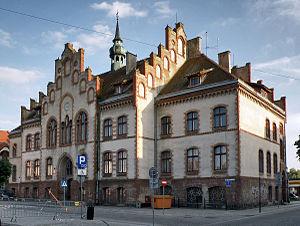 Pisz - Neogothic town hall