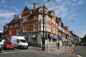Purley, London - Image: Pizza Express, Purley geograph.org.uk 932445