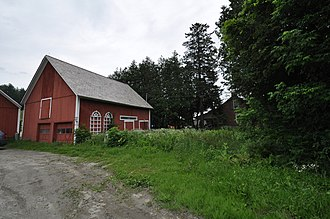 National Register of Historic Places listings in Washington County, Vermont - Image: Plainfield VT Allenwood Farm