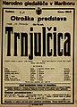 Plakat za predstavo Trnjulčica v Narodnem gledališču v Mariboru 18. februarja 1927.jpg