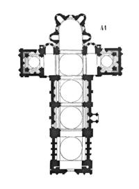 Plan Of The Cathedral