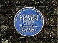 Plaque, Alexander Peden (geograph 2320459).jpg