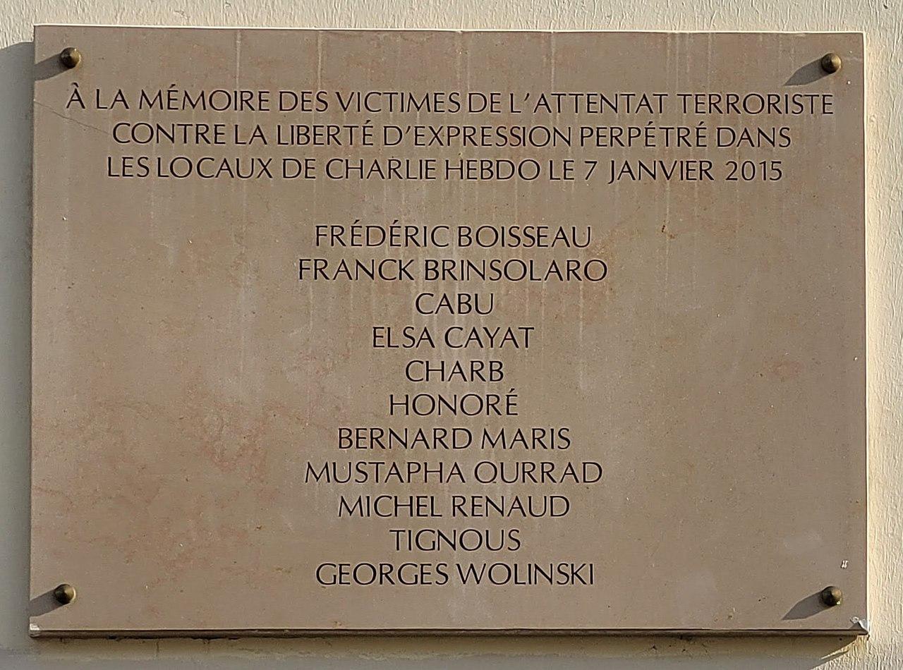 A commemorative plaque.