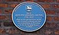 Plaque in Preston Lancashire commemorating Rev Joseph (Daddy) Dunn and first gas-lit building.jpg