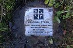 File:Plaque recording the site of the first geocache in England.jpg