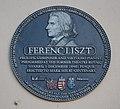 Plaque to Ferenc Liszt, Liverpool.jpg