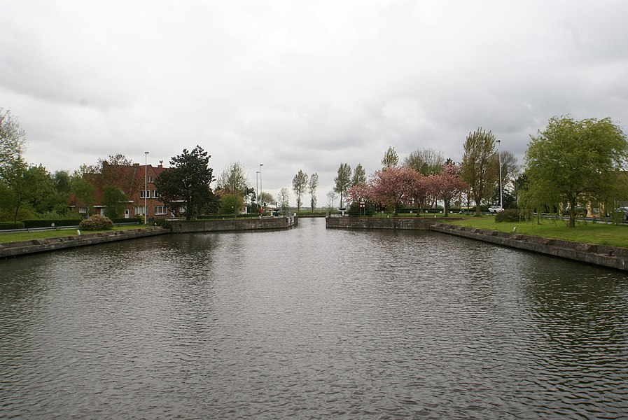 Oudenburg (Belgium): The locks of Plassendale