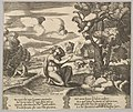 Plate 14- Cupid airborne gleeing from Psyche, from 'The Fable of Psyche' MET DP824482.jpg