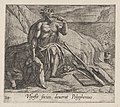 Plate 143- Polyphemus Eating Ulysses' Men, as Achaemides Watches (Ulyssis socios deuorat Polyphemus), from Ovid's 'Metamorphoses' MET DP864225.jpg