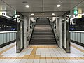 Platform of Befu Station (Fukuoka Municipal Subway) 2.jpg
