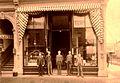 Plummer & Byerley Druggists, Corner of First and Main St, Portland, Oregon.JPG