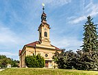 Poertschach Pfarrkirche hl Johannes d T NW-Ansicht 26062016 2862.jpg