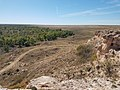 Point of Rocks overlooking trail trace at Cimarron National Grassland (d98df49599094c2e8a071195fb448c53).JPG