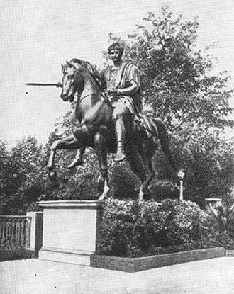 Monument to Prince Józef Poniatowski in Warsaw - Image: Pomnik Jozefa Poniatowskiego przed 1922