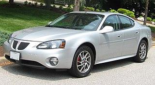 Pontiac Grand Prix automobile model made by Pontiac