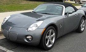 Pontiac Solstice - Wikipedia, the free encyclopedia