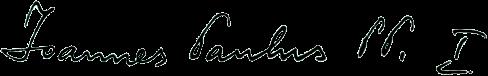 John Paul I's signature
