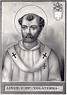 Pope Linus 2nd pope of the Catholic Church