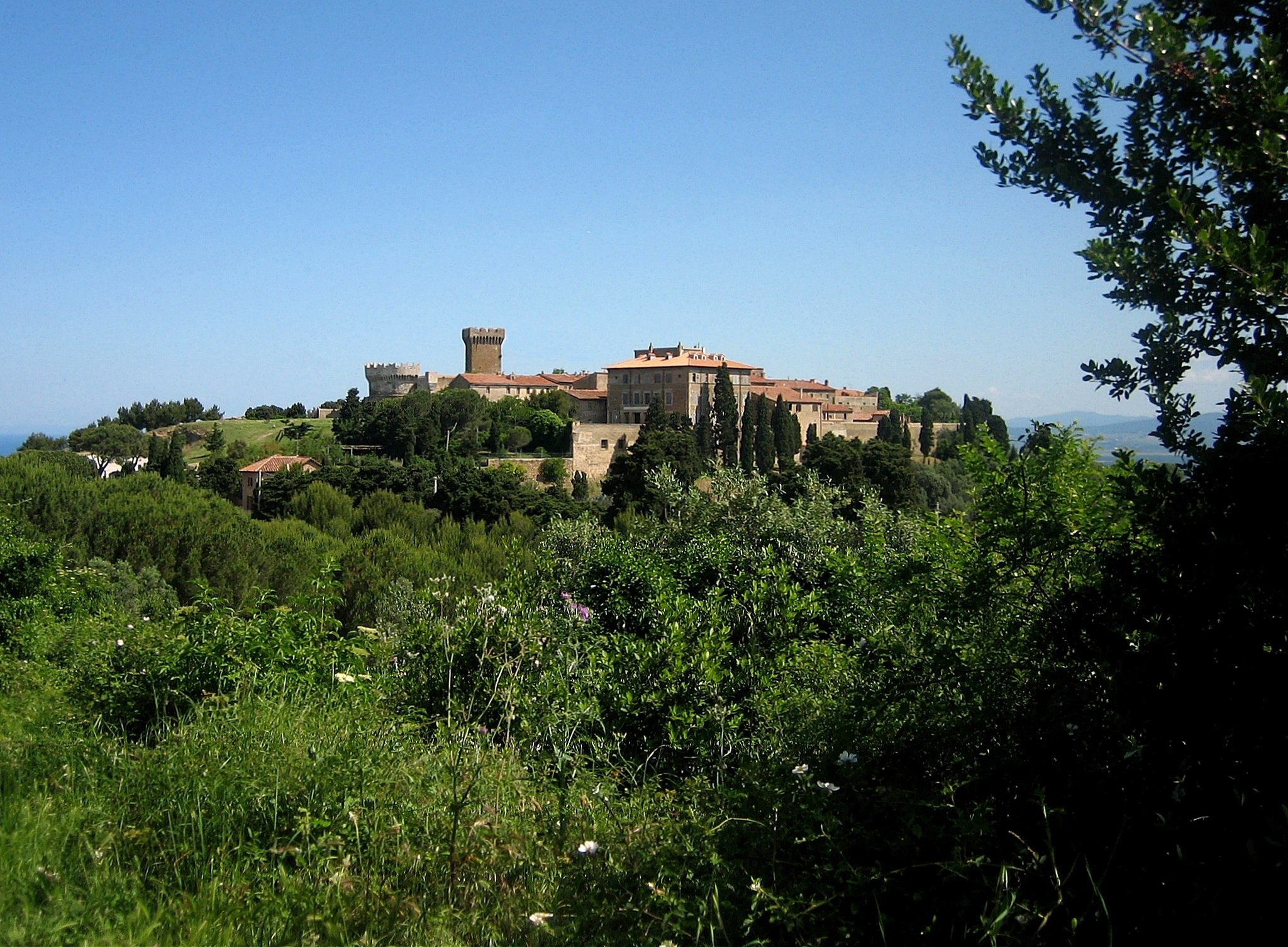 Populonia, panorama