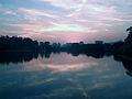 Por do sol no lago do Ibirapuera.jpg