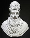 Porcellana di meissen, da J.J. Kaendler, busto di Pio V, 1743-1744, collez. privata.JPG