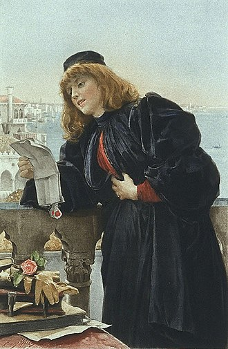 Henry Woods (painter) - Portia by Henry Woods (1887)