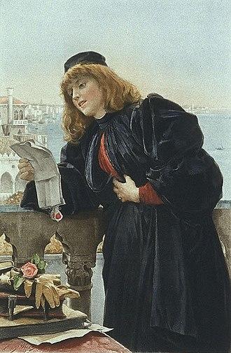 Portia (The Merchant of Venice) - Portia (1888) by Henry Woods
