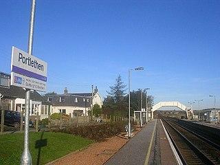 Portlethen railway station Railway station in Aberdeenshire, Scotland