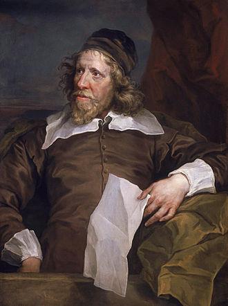 Inigo Jones - Portrait of Inigo Jones painted by William Hogarth in 1758 from a 1636 painting by Sir Anthony van Dyck